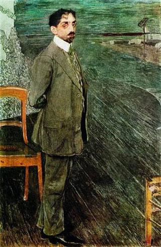 Портрет поэта и композитора М.А. Кузмина