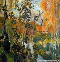 Пейзаж. Павловск. 1910