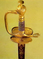 Наградная шпага (мастер Шаф, 1820 г.)