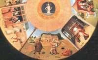 Фрагмент картины Иеронима Босха