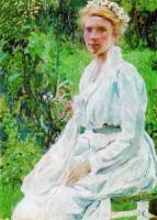 Финская девушка. 1908