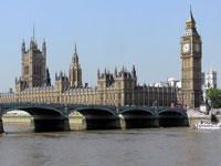 Вестминстерский мост и здание Парламента