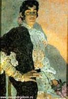Испанка в черной шали. 1908