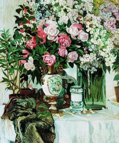 Розы и фарфор (Головин А.Я.)