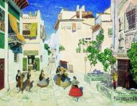 Улица в Севилье. 1908