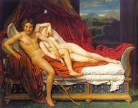 Купидон и Психея (Жак Луи Давид)