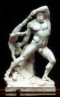 Геракл и Лик (Канова, 1816 г.)