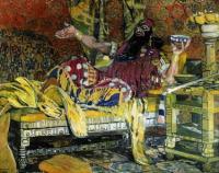Портрет артиста Ф.И. Шаляпина в роли Олоферна. 1908