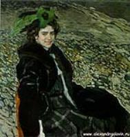 Портрет балерины Е.А.Смирновой. 1910