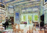 Столовая в доме доктора Вангеля. 1905