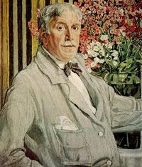 Александр Яковлевич Головин (Автопортрет)