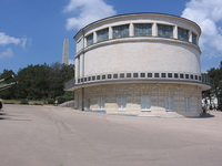 Здание диорамы Штурм Сапун-горы 7 мая 1944 года в Севастополе