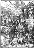 Фрагмент картины Дюрера