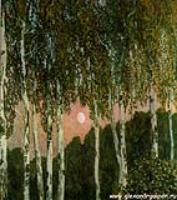 Пейзаж. Березки. 1908-1910