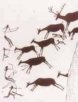 Сцена охоты на оленей (Испания)