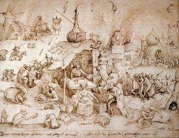 Фрагмент картины Питера Брейгеля
