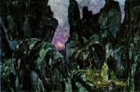 В горах. 1908