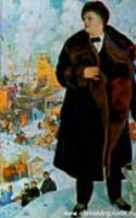 Б.Кустодиев. Портрет Ф.И.Шаляпин. 1922
