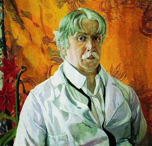 Автопортрет 1927 (Головин А.Я.)