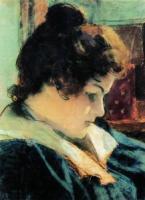 Портрет М.К. Головиной, жены художника. 1898
