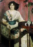 Портрет певицы Валентины Ивановны Кузы(?). 1900-е