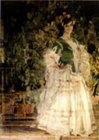 Портрет М.А.Кузнецовой-Бенуа. 1908