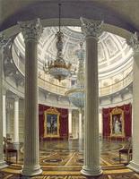 Вид Ротонды в Зимнем дворце