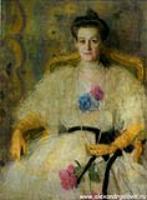 Портрет М.В. Воейковой. 1905