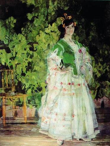 Портрет Марии Николаевны Кузнецовой-Бенуа