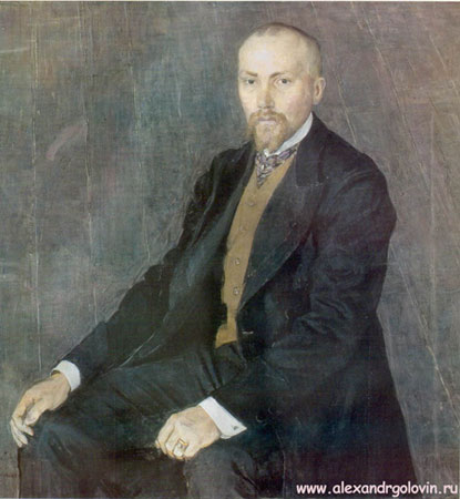 Портрет художника Н.К. Рериха (Головин А.Я.)