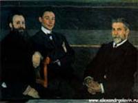 Групповой портрет служащих петербургских Императорских театров. 1906